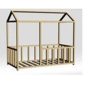 Montessori Yataklar, 1. Sınıf 100 Doğal Çam, Farinay Mobilya