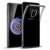 Samsung Galaxy S9 Kılıf Kapak Şeffaf Kap Kablosuz Şarj Uyumlu