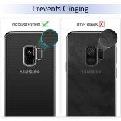 Samsung Galaxy S9 Kılıf Kapak Şeffaf Kap Kablosuz Şarj Uyumlu-5