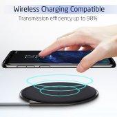 Samsung Galaxy S9 Kılıf Kapak Şeffaf Kap Kablosuz Şarj Uyumlu-6