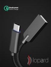 Huawei Mate 9 Pro Şarj Kablosu Type C Hızlı Şarj USB Data Kablo S-3