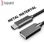 Huawei Mate 9 Pro Şarj Kablosu Type C Hızlı Şarj USB Data Kablo S-4
