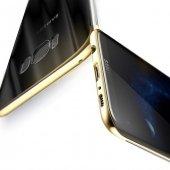 Baseus Glitter Gold Samsung Galaxy S8 Plus Kılıf Arka Koruyucu Ka-2