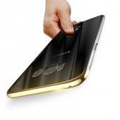 Baseus Glitter Gold Samsung Galaxy S8 Plus Kılıf Arka Koruyucu Ka-3