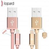 Lopard Apple iPhone 7 Plus 3 Metre Şarj Kablosu Data Kablo Veri T-2