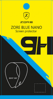 Samsung Galaxy C5 Pro Ekran Koruyucu Blue Nano Temperli Kırılmaz-3