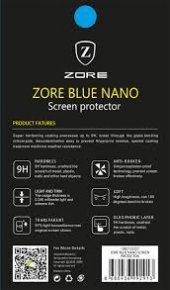 Samsung Galaxy C5 Pro Ekran Koruyucu Blue Nano Temperli Kırılmaz-4