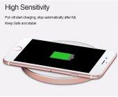 Apple iPhone Kablosuz Şarj Adaptörü Baseus Lightning Wireless Şar-4