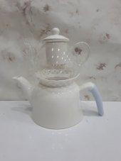 Porselen Cam Çaydanlık