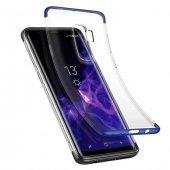 Baseus Armor Samsung Galaxy S9 Plus Mavi Kılıf Arka Koruyucu Kapa