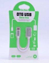 Huawei Mate 10 Pro Type-C USB Otg Kablo Mouse Klavye Flash Bellek-4