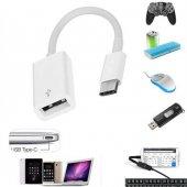 Huawei Mate 10 Pro Type-C USB Otg Kablo Mouse Klavye Flash Bellek-5