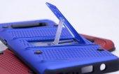 Samsung Galaxy S8 Kılıf Shock Standlı Kapak + Kavisli Ekran Koruy-4