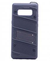 Samsung Galaxy S8 Kılıf Shock Standlı Kapak + Kavisli Ekran Koruy-7