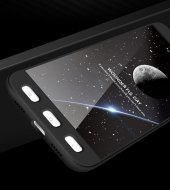 Xiaomi Redmi 4x Kılıf 360 Ön Arka Kapak Koruma + Nano Kırılmaz Ca-3