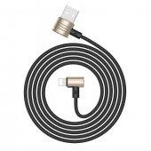 Baseus Lightning ve Micro USB Gold Şarj Kablosu