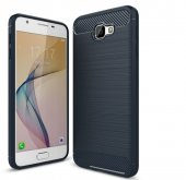 Samsung Galaxy J7 Prime Kılıf Rush Arka Kapak + Ekran Koruyucu Te-4