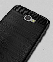 Samsung Galaxy J7 Prime Kılıf Rush Arka Kapak + Ekran Koruyucu Te-8