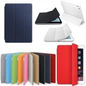 iPad 4 Kılıf 9.7 Smart Case Kapaklı Ön Arka Full Koruma