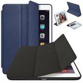 iPad 4 Kılıf 9.7 Smart Case Kapaklı Ön Arka Full Koruma-4
