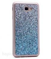 Samsung Galaxy A3 2017 Kılıf Simli Kırçıllı Arka Kapak + Ekran K-2