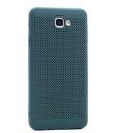 Samsung Galaxy J5 Prime Kılıf Mesh Delikli Silikon Kapak + Kırılm-3