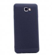 Samsung Galaxy J5 Prime Kılıf Mesh Delikli Silikon Kapak + Kırılm-8