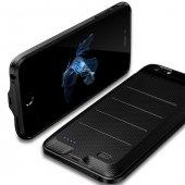 Baseus Ample iPhone 6 6S Plus Siyah Şarjlı Kılıf Arka Koruyucu Ka-3