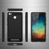 Xiaomi Redmi 3 Pro Kılıf Rush Arka Kapak + Ekran Koruyucu Kırılma-8