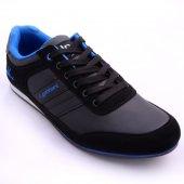 Lucio Gabbani Siyah Lacivert Erkek Spor Ayakkabı