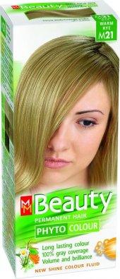 Beauty Doğal Bitkisel Saç Boyası M21 Doğal Küllü Platin