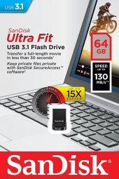 Sandisk Ultra Fit 64gb Usb 3.1 Usb Bellek Sdcz430 ...