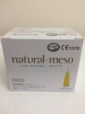 Natural Meso Mezoterapi İğnesi 30g 4mm 100 Adet