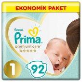 Prima Bebek Bezi Premium Care 1 Beden Yenidoğan 92 Adet