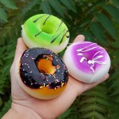Squishy Donut Kokulu Sık Bırak Sukuşi Oyuncak