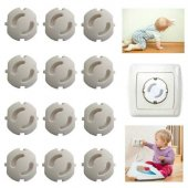 Bebek Güvenlik Ürünü 12 Adet Priz Kapağı 100...