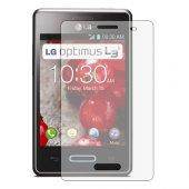 LG Optimus L3 II  2 E430 Mat Ekran Koruyucu - 4 Adet