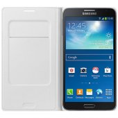 Samsung Galaxy Note 3 Neo Kılıf Orjinal Flip Wallet - EF-WN750BWE    -5