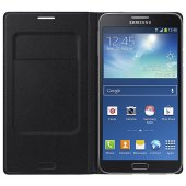 Samsung Galaxy Note 3 Neo Kılıf Orjinal Flip Wallet - EF-WN750BWE    -9
