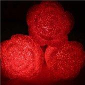 Gül Modeli Renk Değiştiren, Led Işıklı, Pilli Gece Lambası - Deko-3