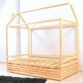 Montessori Yatak Çocuk Yatak Çekmeceli 90x190...