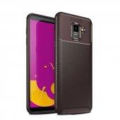 Samsung Galaxy J6 Ultra Soft Negro Karbon Silikon Kılıf + Nano Ekran Koruyucu-2