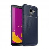 Samsung Galaxy J6 Ultra Soft Negro Karbon Silikon Kılıf + Nano Ekran Koruyucu-3