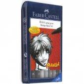 Faber Castell 8 Pitt Artist Pen Manga Set