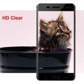 Nokia 5 Kırılmaz Cam Siyah Temperli Ekran Koruyucu Kenarları Tam Kaplayan-2
