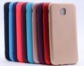 Samsung Galaxy J5 Pro Kılıf Premium Silikon Kapak Siyah + Kırılmaz Cam Ekran Koruyucu-2