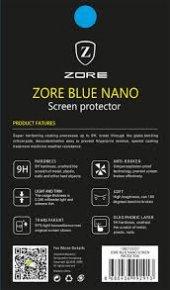 Motorola E4 Plus Ekran Koruyucu Blue Nano Temperli Kırılmaz Cam-4