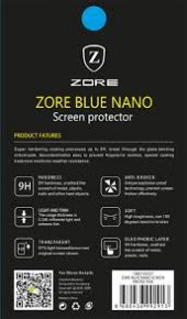Sony Xperia XA1 Plus Ekran Koruyucu Blue Nano Temperli Kırılmaz  Cam-4