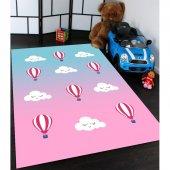 Bulut Desenli Çocuk Odası Halıları