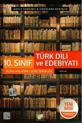 10.Sınıf Türk Dili ve Edebiyatı Konu Anlatımlı Soru Bankası FDD Yayınları